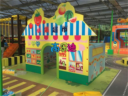 Cleaning and Maintenance of Amusement Equipment in Indoor Children's Playground